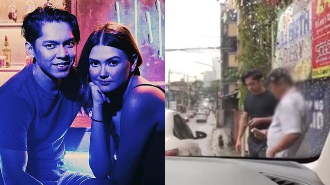 Angelica, Carlo figure in a minor road mishap