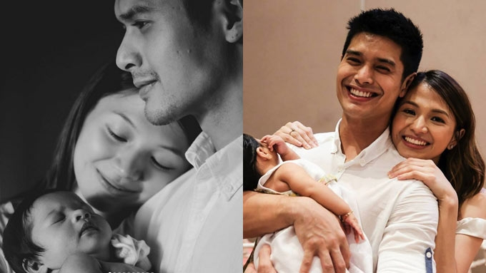 JC de Vera posts photo of GF, baby for the first time