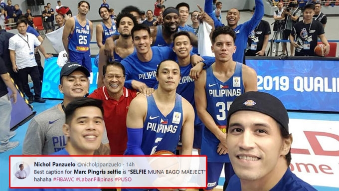 Netizens react to Pingris's