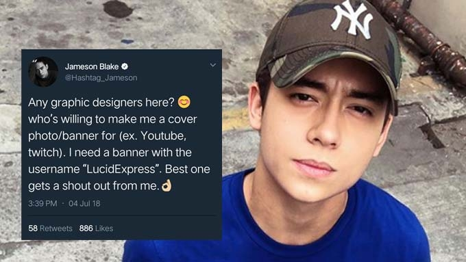 Jameson Blake draws flak over