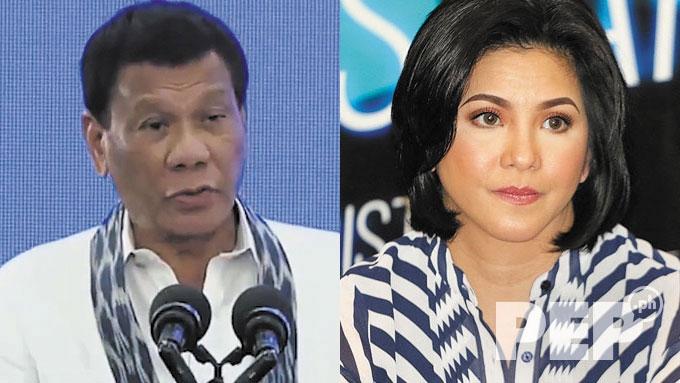 Regine asks President Duterte to leave God out of politics