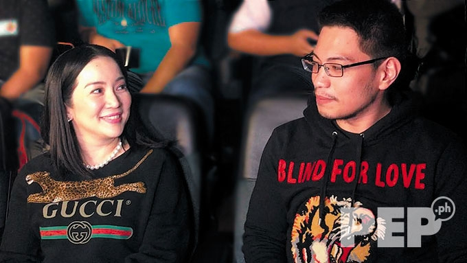 Gideon Peña no ulterior motives for befriending Kris Aquino