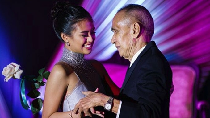 Gabbi Garcia's grandfather passes away