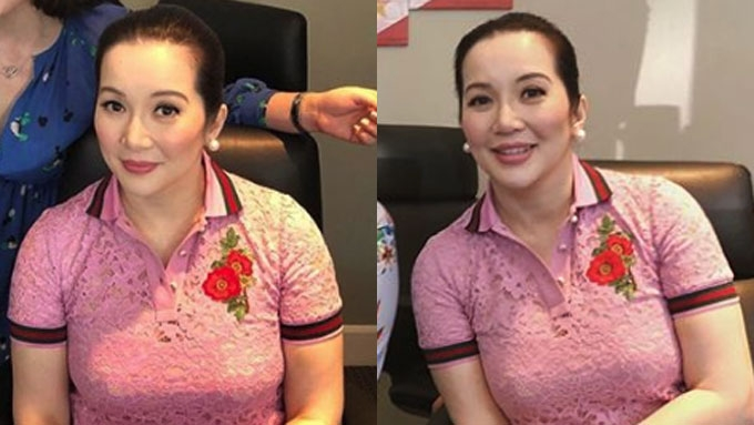 Kris Aquino to wear jewelry worth millions at movie premiere