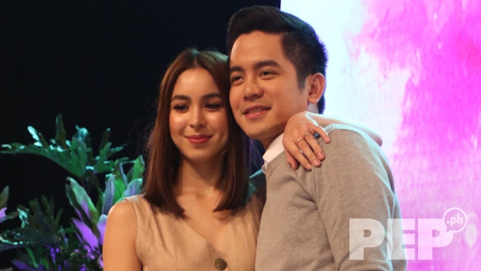 Joshua says Star Magic told him to lessen PDA with Julia