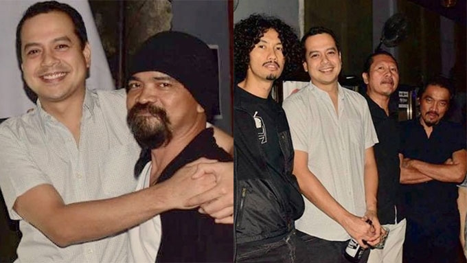 John Lloyd spotted with Ronnie Lazaro, Dong Abay in QC bar
