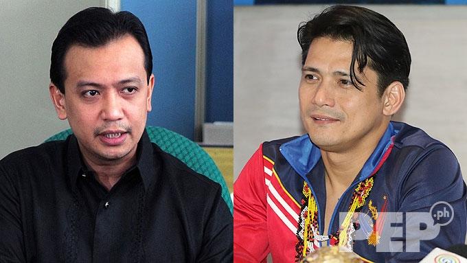 Robin Padilla mocks Sen. Antonio Trillanes