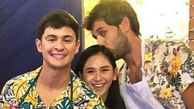 Matteo Guidicelli sees Nico Bolzico kissing Sarah Geronimo