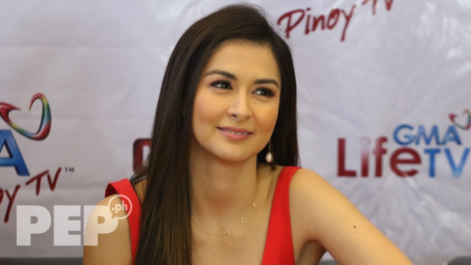 Marian deflects questions about Dingdong's political plans
