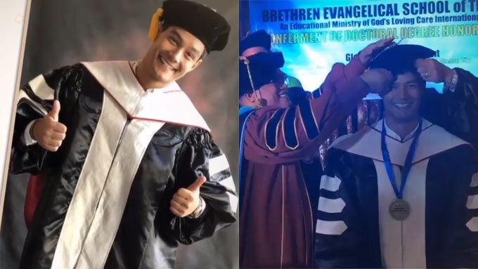 Daniel Matsunaga honorary degree not recognized by CHED