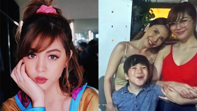 Janella Salvador back on good terms with mom Jenine