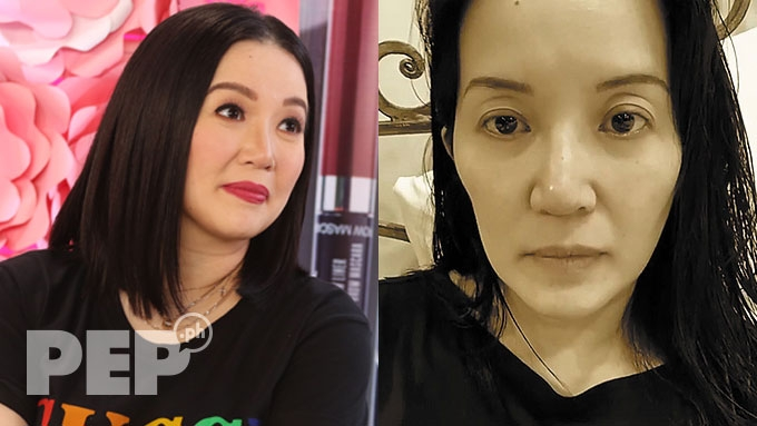 Kris Aquino loses weight due to current upheaval
