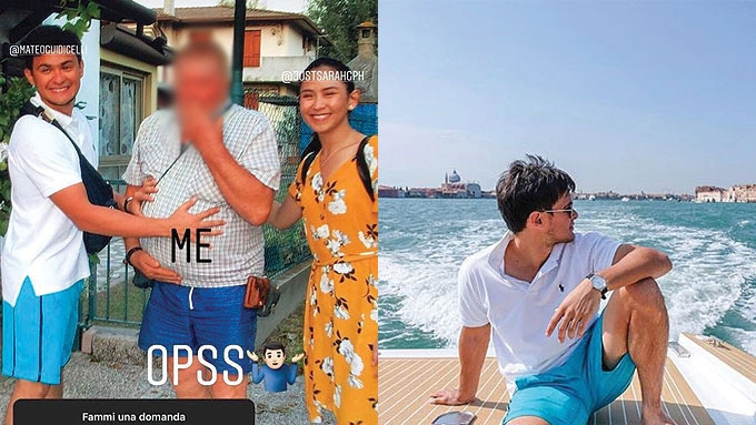 Sarah Geronimo, Matteo Guidicelli Italy photo leaked online