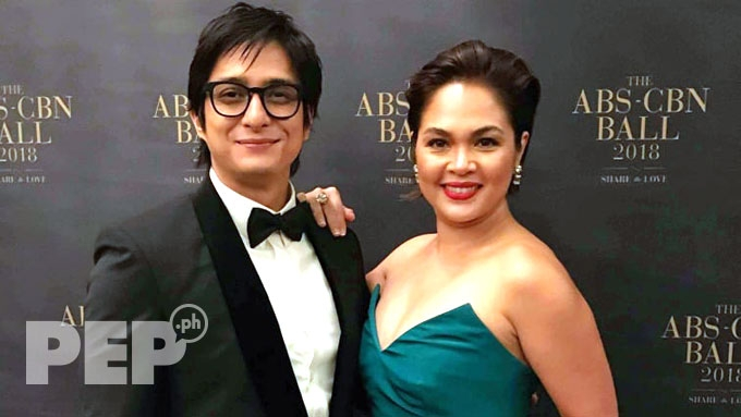 Judy Ann Santos attends ABS-CBN Ball with Ryan Agoncillo