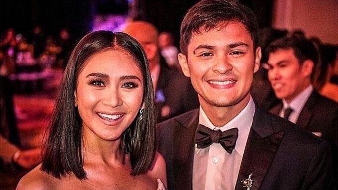 Sarah, Matteo holding hands at first ABS-CBN Ball