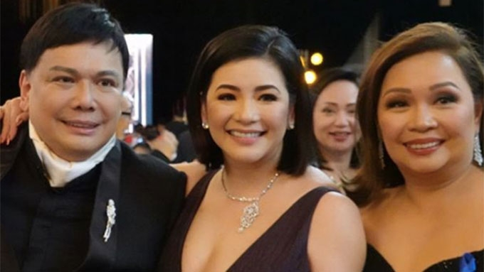 Regine Velasquez attends ABS-CBN Ball 2018