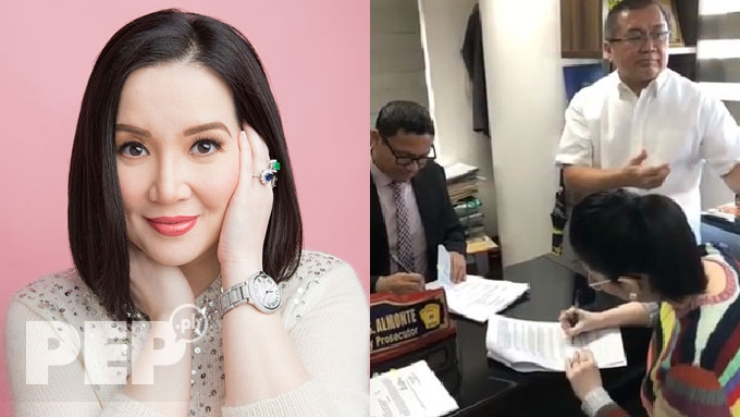 Kris Aquino files qualified theft complaint in 7 cities