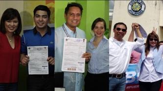 Richard Gomez, Lucy Torres, Jolo Revilla, Gary Estrada, other celebs file COCs