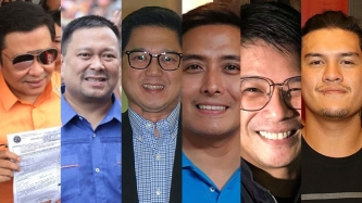 Jinggoy Estrada, JV Ejercito gun for Senate seat; Herbert Bautista, Yul Servo, Alfred Vargas to run for congress
