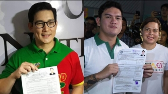 Richard Yap eyes congress seat in Cebu; Baste Duterte to run for vice mayor in Davao City