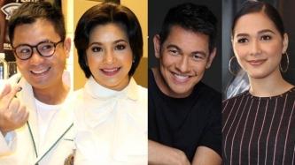 Ogie Alcasid, Gary Valenciano, Maja Salvador welcome Regine Velasquez as Kapamilya
