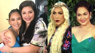 Sarah Geronimo, Vice Ganda, Judy Ann Santos welcome Regine Velasquez to ABS-CBN