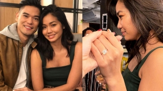 RnB singer Jay-R and Mica Javier are now engaged