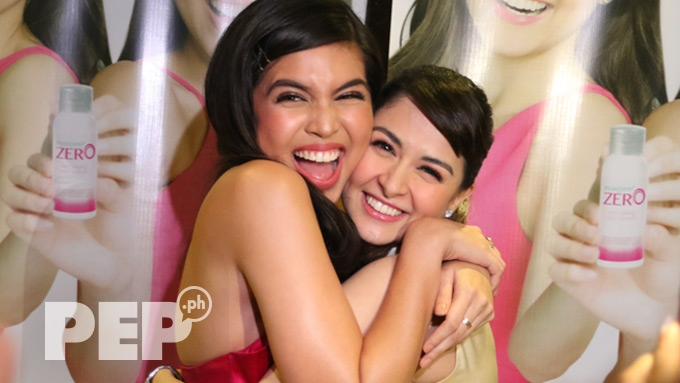 Marian Rivera teases Maine Mendoza about her suitors