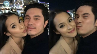 Paulo Avelino gets cozy with model-girlfriend Jodie Tarasek in Australia
