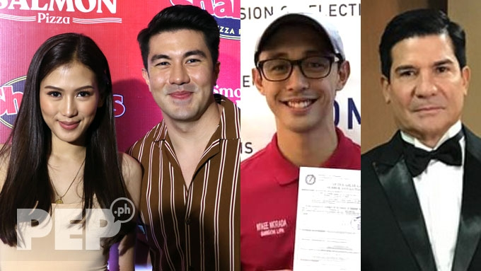 Alex, Luis support loved ones running in 2019 elections