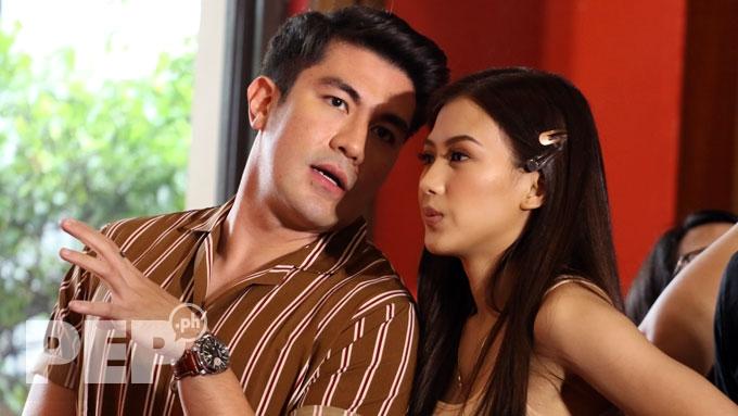 Alex teases Luis about past love: