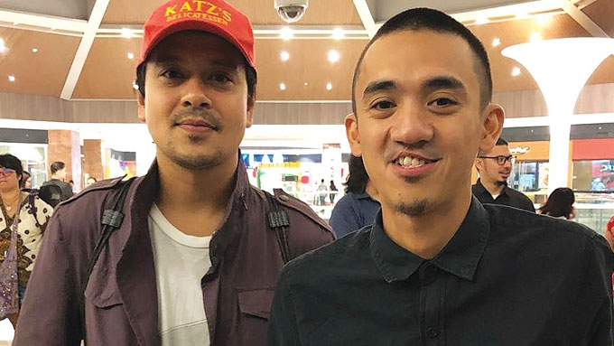 John Lloyd spotted at QCinema filmfest screening