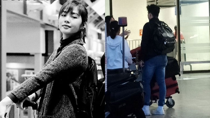 Janella, Elmo spotted at the airport amid rift