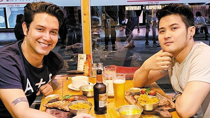 Paolo Ballesteros posts photo with rumored BF on Instagram