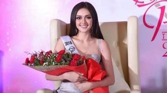 Ahtisa Manalo dedicates Miss International 1st runner-up crown to supporters