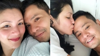 Ogie Alcasid relieved that Regine Velasquez's bashers have slackened a bit