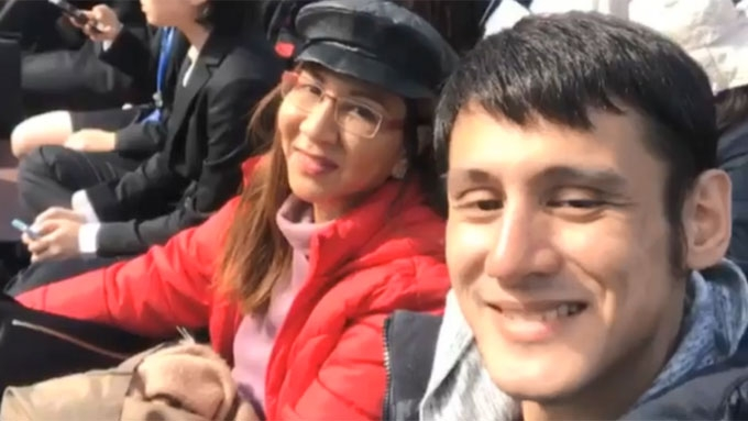 Lynn misses son Teejay; posts video of their Japan trip