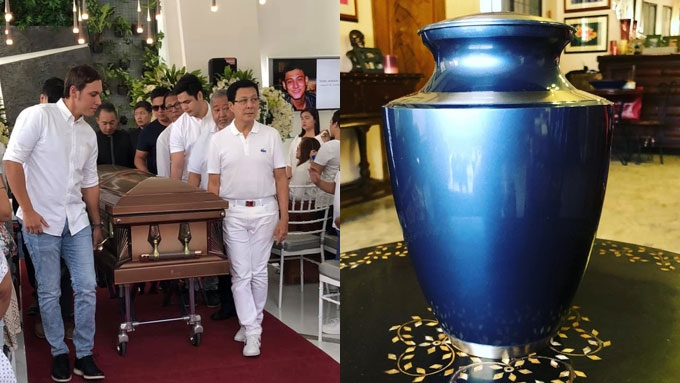 Tirso to late son Teejay: Missing you so much. We love you.