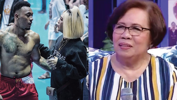 Vice's mom accepts TV host's relationship with Calvin Abueva