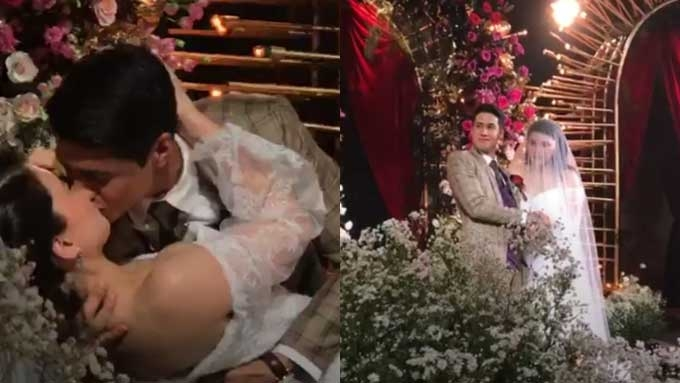 Kylie Padilla ties the knot with Aljur Abrenica