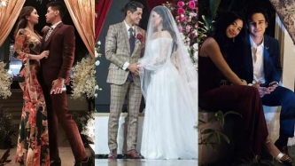 Vin-Sophie, Gabbi-Khalil spotted on a date at Kylie Padilla-Aljur Abrenica wedding