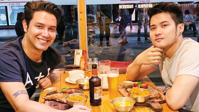 Paolo Ballesteros expresses love for rumored boyfriend