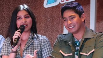 Kapuso star Maine Mendoza not intimidated by Kapamilya actor Coco Martin
