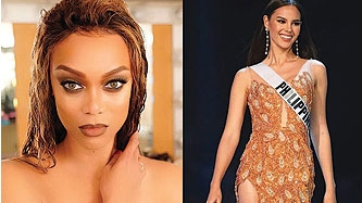 Tyra Banks tweets about Pinoy power in praise of Catriona Gray:
