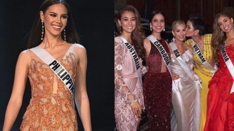 Catriona Gray quashes alleged bullying issue at Miss Universe 2018