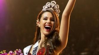 Grand homecoming ni Miss Universe 2018 Catriona Gray, kasado na