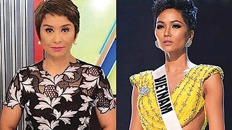 Ces Drilon reacts to meme about her and Miss Vietnam