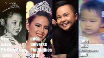 Ice Seguerra has a funny post about being Little Miss Philippines like Catriona Gray