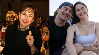 Vilma Santos can hardly wait for Luis Manzano, Jessy Mendiola to get married