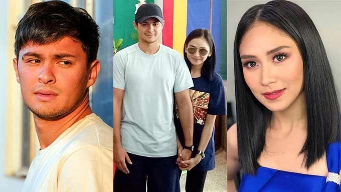 Sarah, Matteo keep holding hands in Cebu school visit